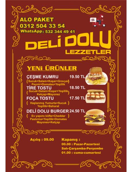 2000 Adet 14X20 A5 Broşür